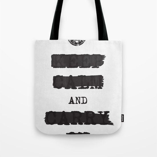 redacted. Tote Bag