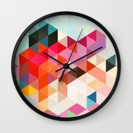 Wall Clock featuring Heavy Words 01. by Three Of The Possess…