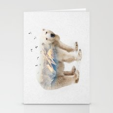 Wild I Shall Stay | Pola… Stationery Cards