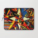 intermixing Color Star  Laptop Sleeve