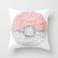 150 Pokemon Throw Pillow