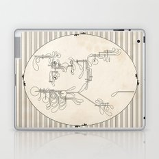 Custom made Mozart Laptop & iPad Skin