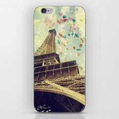 Paris is Flying iPhone & iPod Skin