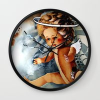 Doll Wall Clock
