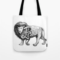 Pride Lion Tote Bag
