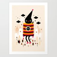 Mr. Wooly Art Print