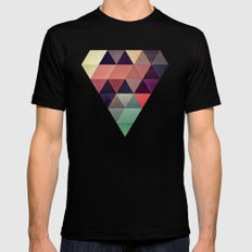 tryypyzoyd SMALL Mens Fitted Tee Black