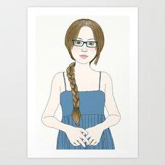 Eye Glassses Art Print