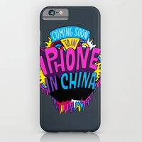 iPhone & iPod Case featuring Coming Soon to an iPhone in China! by Chris Piascik