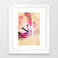 VEA 21 Framed Art Print