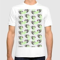 Cephalopod Mens Fitted Tee White SMALL