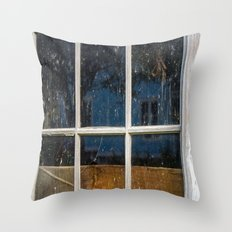 6 panes  Throw Pillow