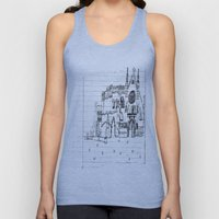 Childhood Drawings (Cath… Unisex Tank Top