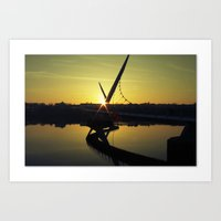 Peace Bridge, Derry.  Art Print