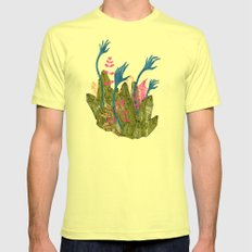 l'isola di calipso Mens Fitted Tee Lemon SMALL