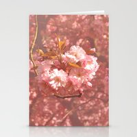 Pink Amongst The Trees Stationery Cards