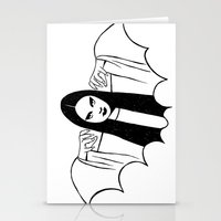 Mark Of The Vampire Luna Stationery Cards