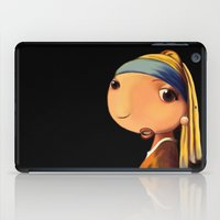 Girl with a Pearl Earring iPad Case