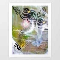 Eye & I Art Print