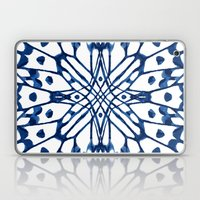 Butterfly: Navy Laptop & iPad Skin
