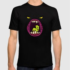 HUNGRY Mens Fitted Tee Black SMALL