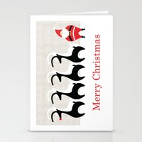Merry Christmas From San… Stationery Cards