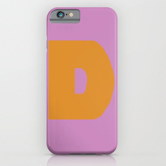 Orange D iPhone & iPod Case