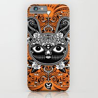 Day Of The Dead Bunny Ce… iPhone 6 Slim Case