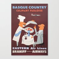 Basque Country Culinary … Canvas Print