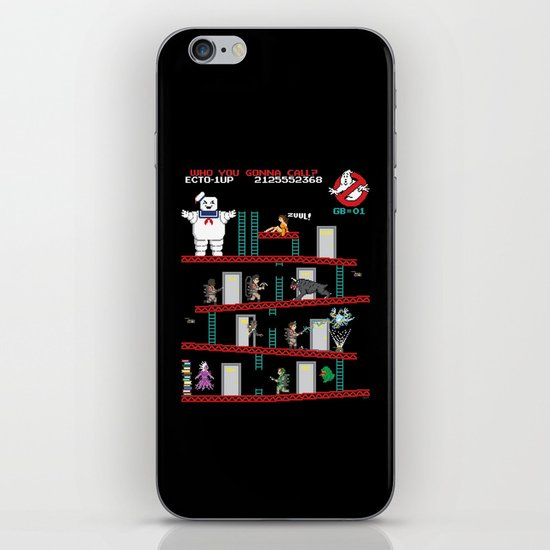 Donkey Puft iPhone & iPod Skin