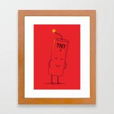 Take Cover Framed Art Print