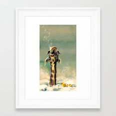 The Bath Framed Art Print