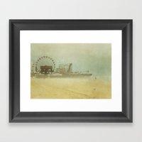 Seaside Heights Fun Town… Framed Art Print