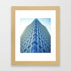 Terminus North Framed Art Print