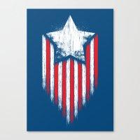 Star & Stripes Canvas Print