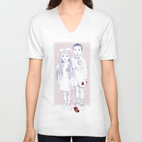 Heart Replacement Unisex V-Neck