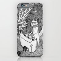 iPhone & iPod Case featuring Fox Piano by Ulrika Kestere