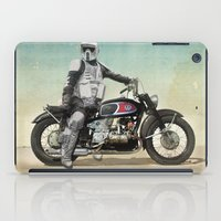 Looking for the drones, VW Scout Trooper Motorbike iPad Case