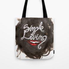 Simple Living Tote Bag