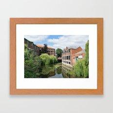 River Foss York Framed Art Print