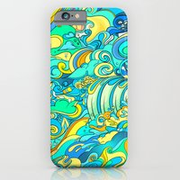 iPhone & iPod Case featuring Cosmic Waterfall by Helen Kaur