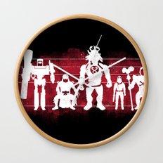 Plastic Villains  Wall Clock