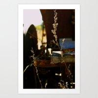 Weeds • Pumpkin Patch Art Print