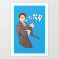 Yes We Can Art Print