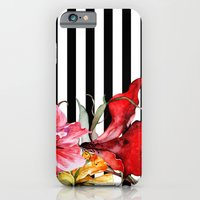 iPhone Cases featuring FLORA BOTANICA | stripes by Cheryl Daniels