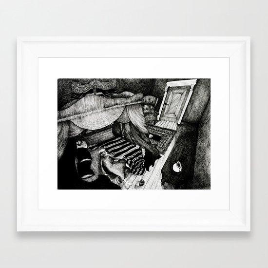 Ebenezer Scrooge Framed Art Print