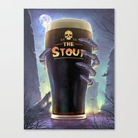 Return of The Stout Canvas Print