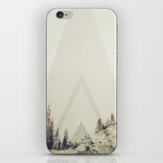 in A cabin in the woods iPhone & iPod Skin