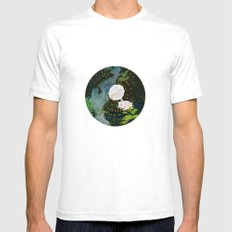SEEING SOUNDS SMALL White Mens Fitted Tee