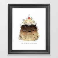 Black Forest: Too Pretty… Framed Art Print